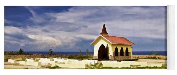Chapel By The Sea Yoga Mat