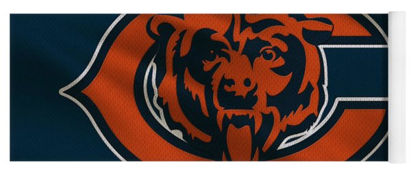 Chicago Bears Uniform Yoga Mat