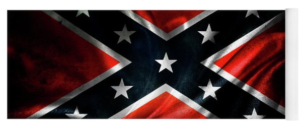 Confederate Flag 1 Yoga Mat