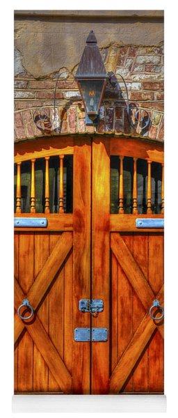 Doors Of Charleston Yoga Mat