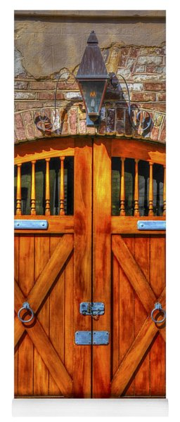 Doors Of Charleston Yoga Mat