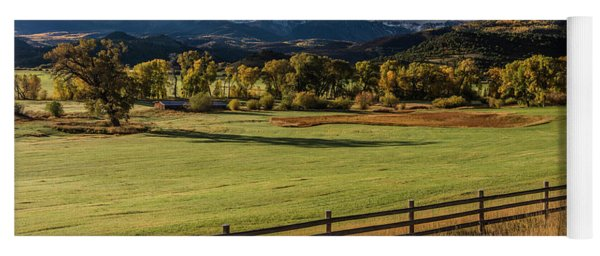 Double Rl Ranch Near Ridgway, Colorado Yoga Mat