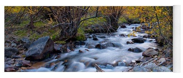Fall At Big Pine Creek Yoga Mat