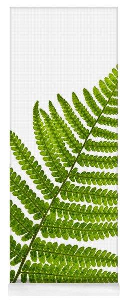 Fern Leaf Yoga Mat