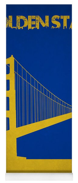 Golden State Warriors Yoga Mat