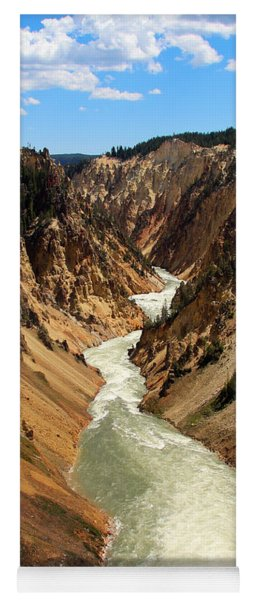 Grand Canyon Of Yellowstone Yoga Mat