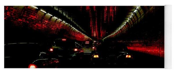 Holland Tunnel Lights Yoga Mat