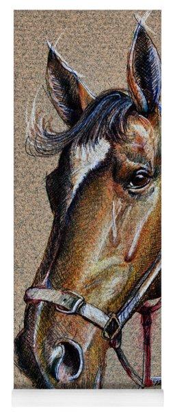 Horse Face - Drawing  Yoga Mat