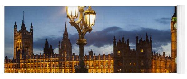 House Of Parliament Yoga Mat