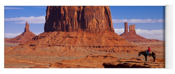 John Ford Point Monument Valley Yoga Mat