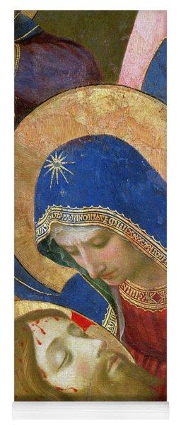 Lamentation Over The Dead Christ Yoga Mat