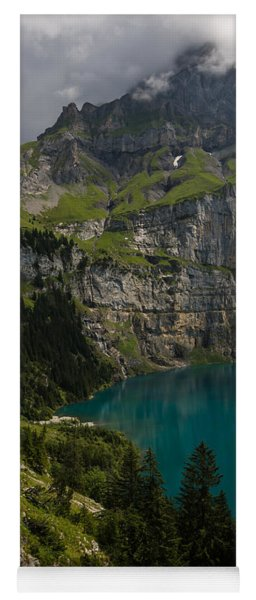 Oeschinensee - Swiss Alps - Switzerland Yoga Mat