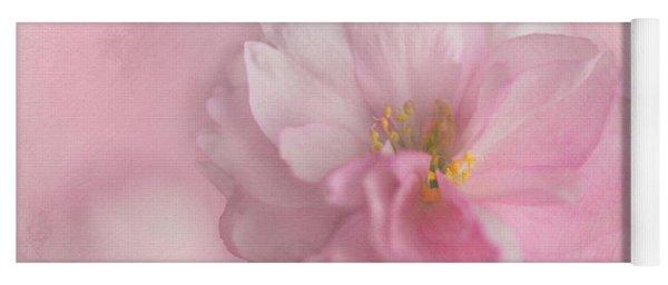 Pink Blossom Yoga Mat