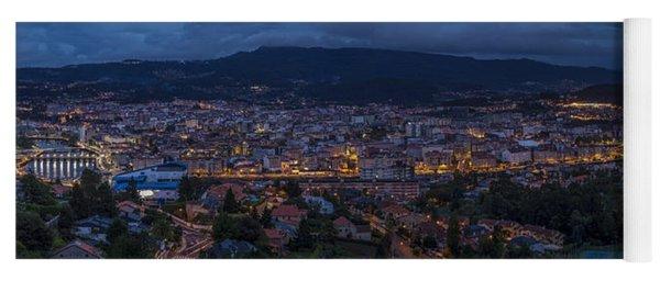 Pontevedra Panorama From A Caeira Yoga Mat