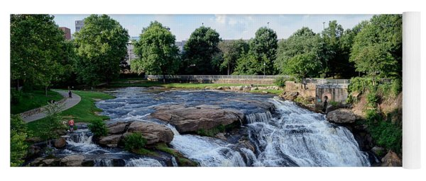 Reedy River Falls Yoga Mat