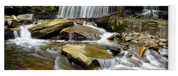 Ricketts Glen Delaware Falls Yoga Mat