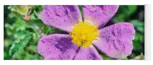 Rockrose Wild Flower Yoga Mat