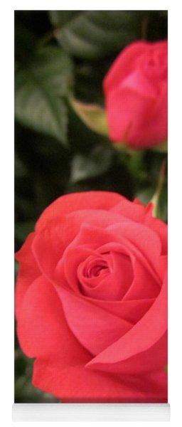 Roses In Red Yoga Mat