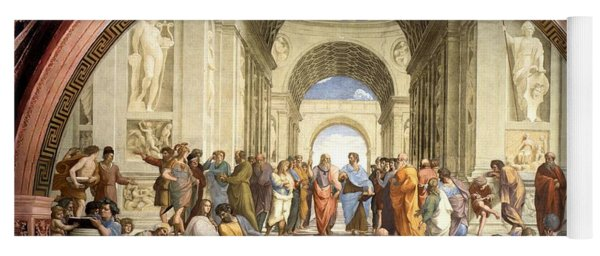 School Of Athens Yoga Mat