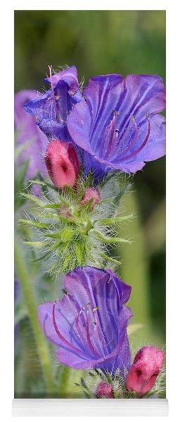 Spring Wild Flower Yoga Mat