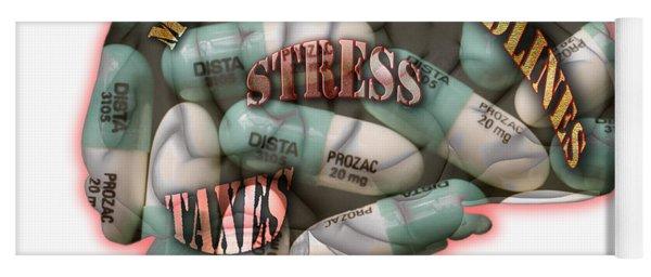 Stress Yoga Mat