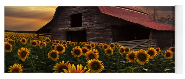 Sunflower Farm Yoga Mat