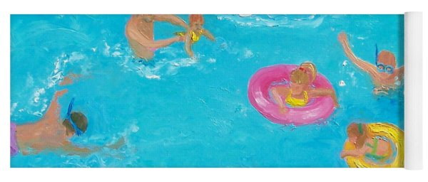The Swimmers Yoga Mat