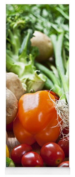 Vegetables Yoga Mat