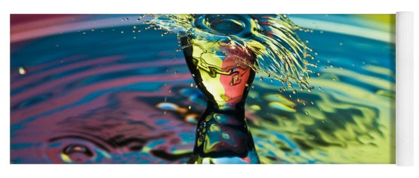 Water Splash Having A Bad Hair Day Yoga Mat