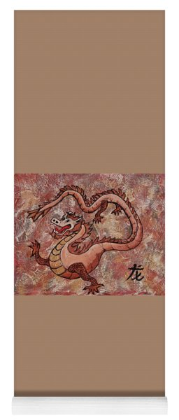 Year Of The Dragon Yoga Mat