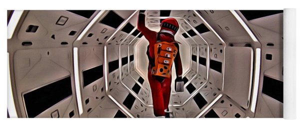 2001 A Space Odyssey Yoga Mat