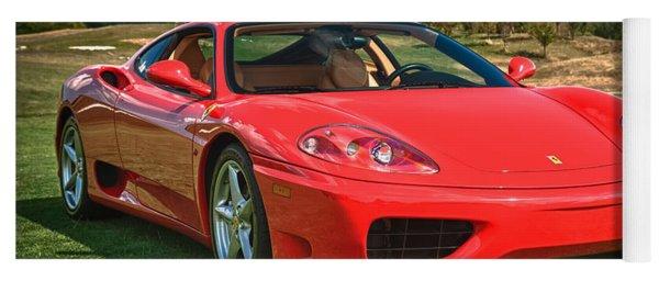 2001 Ferrari 360 Modena Yoga Mat