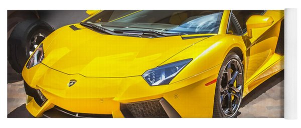 2013 Lamborghini Adventador Lp 700 4 Yoga Mat