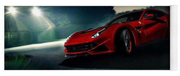 2014 Novitec Rosso Ferrari F12 Berlinetta N Largo Yoga Mat