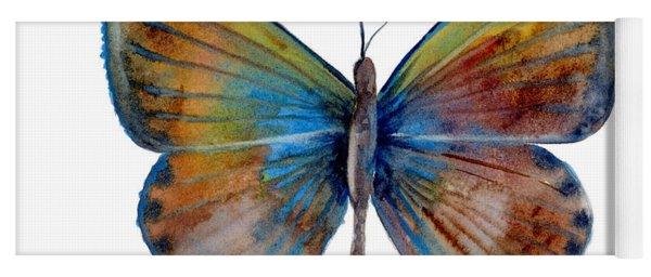 22 Clue Butterfly Yoga Mat