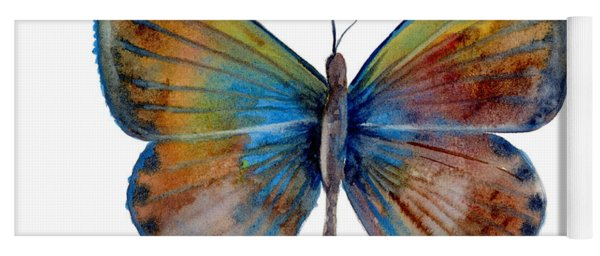 22 Clue Butterfly Yoga Mat