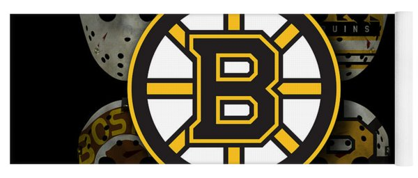 Boston Bruins Yoga Mat
