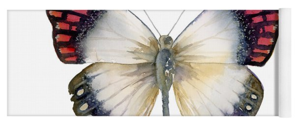27 Magenta Tip Butterfly Yoga Mat