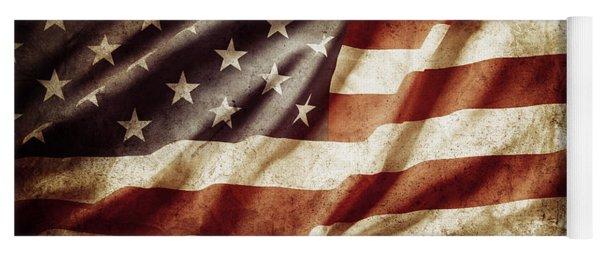 American Flag 53 Yoga Mat