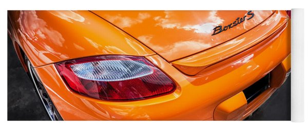 2008 Porsche Limited Edition Orange Boxster  Yoga Mat