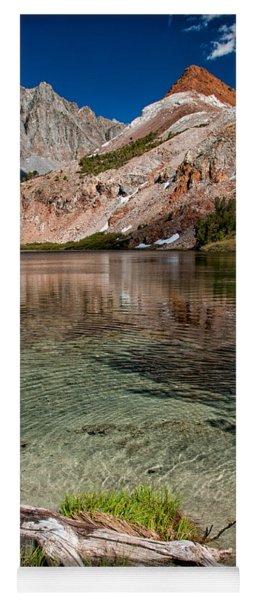 Bull Lake And Chocolate Peak Yoga Mat
