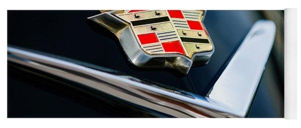 Cadillac Emblem Yoga Mat