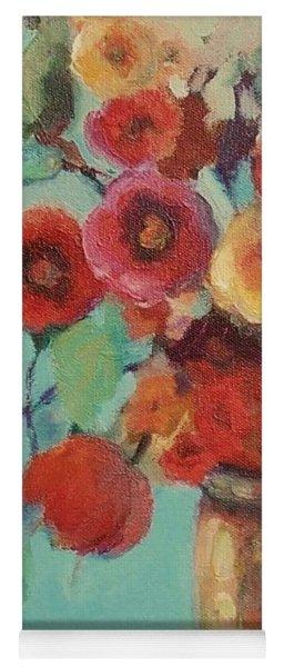 Floral Painting Yoga Mat