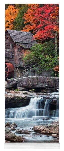 Glade Creek Grist Mill  Yoga Mat