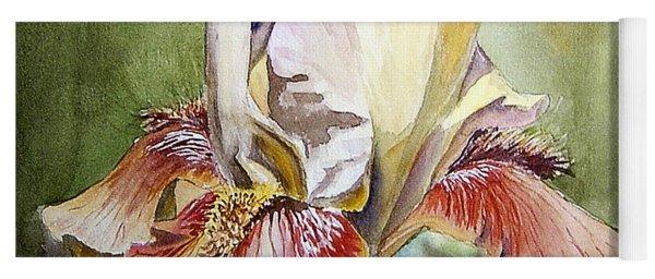Iris Painting Yoga Mat