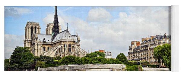 Notre Dame De Paris Yoga Mat