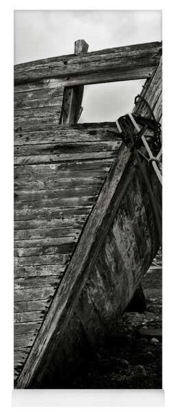 Old Abandoned Ship Yoga Mat