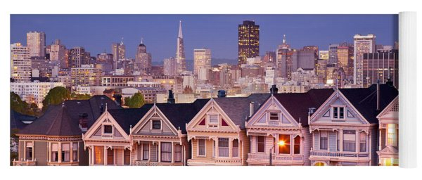 Yoga Mat featuring the photograph Painted Ladies by Brian Jannsen