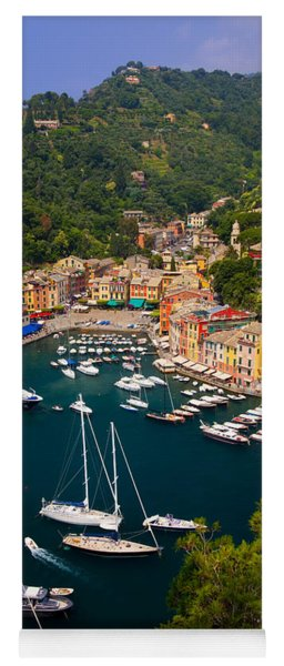 Yoga Mat featuring the photograph Portofino by Brian Jannsen