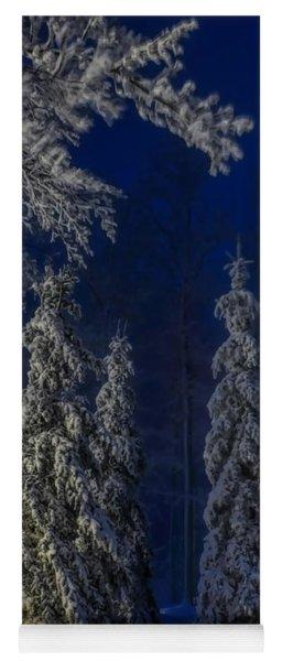 Rib Mountain State Park Snow Yoga Mat